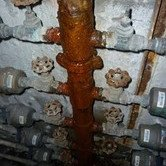 Defective Fresh Water Pipe